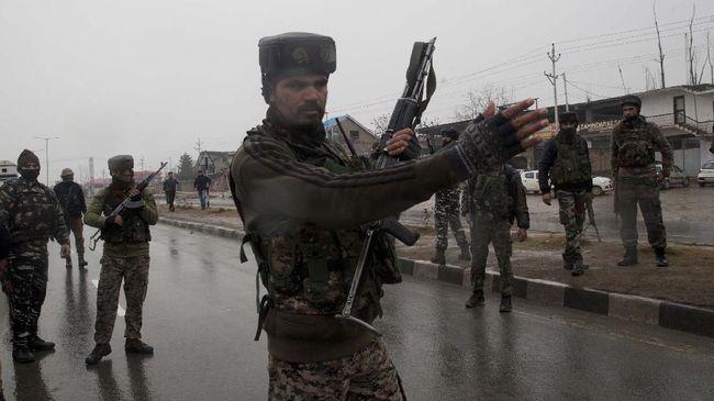 India Sebut Serangan ke Kashmir Menargetkan Teroris