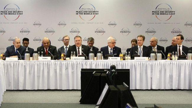Palestina: AS Coba Maklumkan Okupasi Israel di Dialog Warsawa