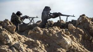 Semakin Terdesak, ISIS Tawan Seribu Orang Jadi Perisai Hidup