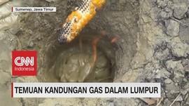 Temuan Kandungan Gas dalam Lumpur