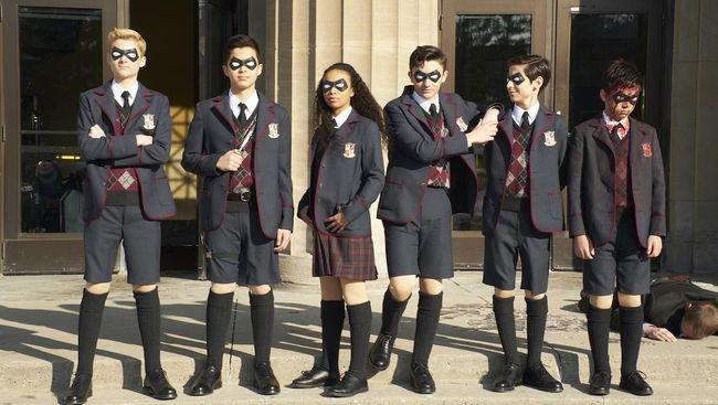Netflix Resmi Rilis Serial Superhero 'The Umbrella Academy'