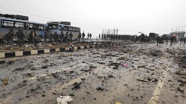 Kekerasan separatis di wilayah tersebut telah menewaskan lebih dari 47.000 orang sejak 1989. (Reuters/Younis Khaliq)