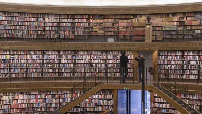 Perpustakaan Rasa Mal di Swedia
