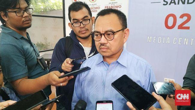 Terkait Pajero Berpelat TNI, BPN Minta Bawaslu Tegas