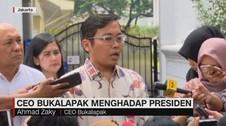 CEO Bukalapak Menghadap Presiden