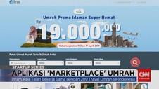 Umrah Mudah dengan Aplikasi 'Marketplace' Umrah