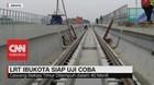LRT Ibukota Siap Uji Coba