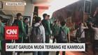 Skuat Garuda Muda Terbang ke Kamboja