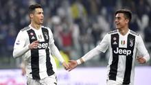 FOTO: Ronaldo dan Dybala 'Mesra', Juventus Lumat Frosinone