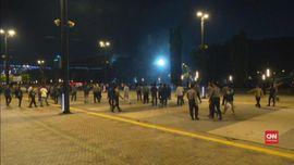 VIDEO: Polisi Cek CCTV Pastikan Sumber Ledakan Senayan