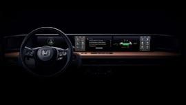 Honda Ungkap Desain Dasbor Mobil Listrik