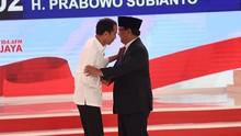 Menilik Apresiasi Prabowo ke Jokowi dalam Debat Kedua Capres