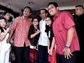 Jelang Debat, Jokowi Ajak Keluarga Makan di Kelapa Gading