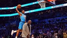 FOTO: Ragam Aksi NBA All-Star, Three Point hingga Slam Dunk