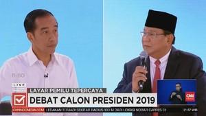 VIDEO: Prabowo Bertanya Kepada Jokowi soal