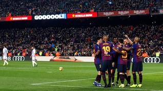 Klasemen Liga Spanyol Usai Barcelona dan Atletico Menang