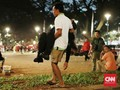Korban Ledakan Parkir Timur Senayan Terlihat Muntah dan Syok