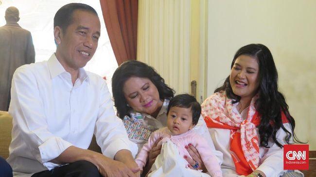Kala Sedah Mirah Anteng Antar Jokowi ke Arena Debat