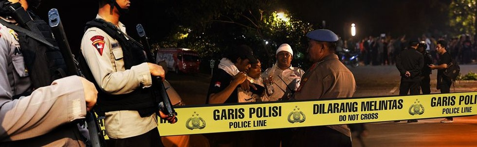Ledakan di Parkir Timur Senayan