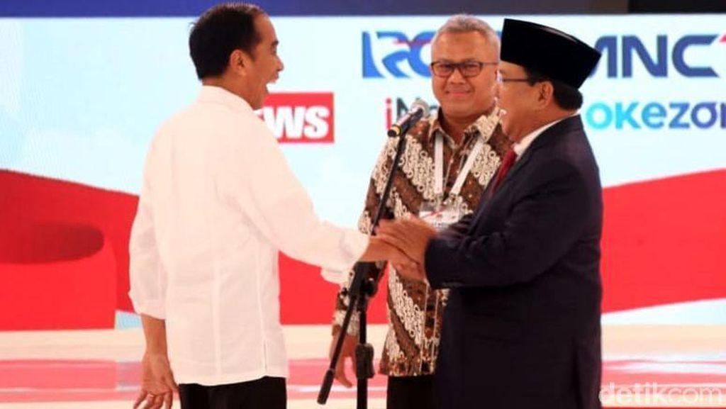 Update Real Count KPU Sore Ini: Jokowi Masih Ungguli Prabowo