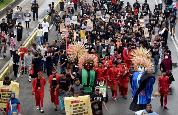 Karnaval Betawi untuk Tolak Privatisasi Pelabuhan
