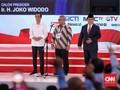 Pendukung Jokowi Soraki Prabowo saat Jawab Tayangan Video