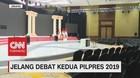Melihat Persiapan Venue Debat Kedua Pilpres 2019