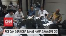 PKS & Gerindra Bahas Nama Cawagub DKI Jakarta