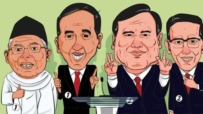Calon Presiden Nomor Urut 02 Prabowo Subianto menyerang Presiden Joko Widodo (Jokowi) mengenai impor.