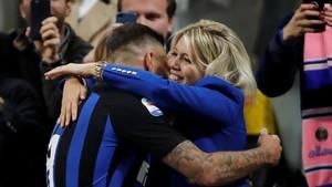 Istri Icardi Jadi Sasaran Amuk Fan Inter Milan