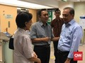 Jenguk Ani, MS Hidayat Minta SBY Rehat Berpolitik Sementara