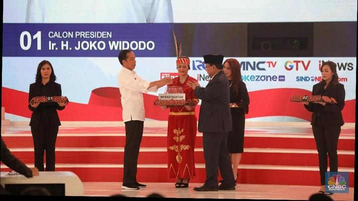 Melihat Adu Gagasan Jokowi & Prabowo di Debat Capres 2019