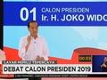 VIDEO: Visi dan Misi Jokowi dalam Debat Kedua 2019