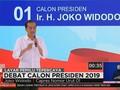 VIDEO: Pernyataan Pamungkas Jokowi di Debat Capres Kedua