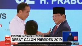 VIDEO: Pernyataan Pamungkas Prabowo di Debat Capres Kedua