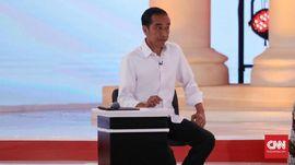 Jokowi Pamerkan Pembubaran Petral di Debat Pilpres