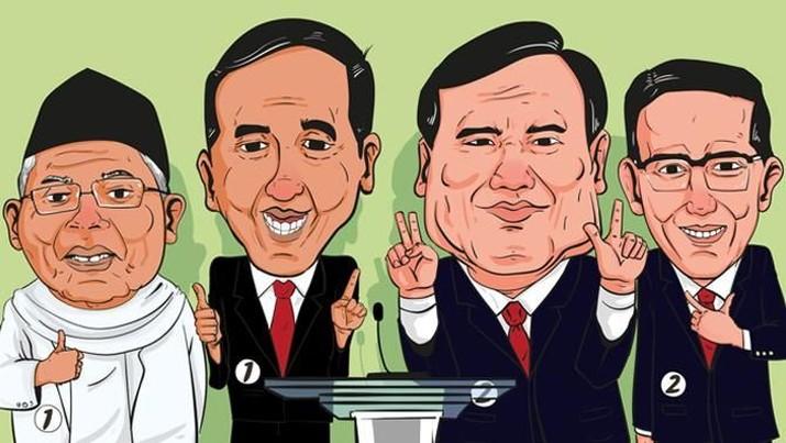 CNBC Indonesia menyiarkan langsung Debat Pilpres Putaran II.
