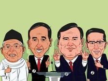 Saksikan Live! Jokowi Vs Prabowo Debat Sektor Ekonomi