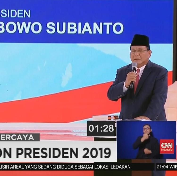 VIDEO: Prabowo Ingin Pisahkan KLH dan Kehutanan