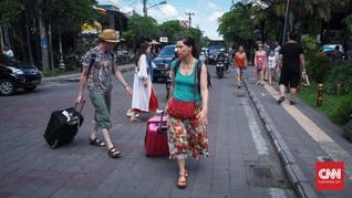 Wabah Corona, Kunjungan Turis Asing ke Bali Anjlok 95 Persen