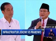 Adu Gagasan Infrastruktur Jokowi vs Prabowo