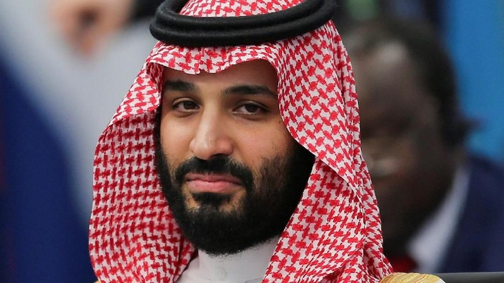 FILE PHOTO: Saudi Arabia's Crown Prince Mohammed bin Salman attends the opening of the G20 leaders summit in Buenos Aires, Argentina November 30, 2018. REUTERS/Sergio Moraes/File Photo