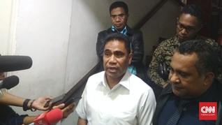 Sekda Papua Minta Maaf Aniaya Pegawai KPK