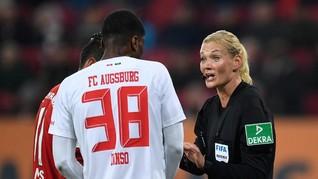 Karena Wasit Wanita, TV Iran Batal Siarkan Laga Bundesliga
