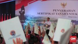 Jokowi Minta Warga Tangerang Tak Jual Tanah ke Pengembang