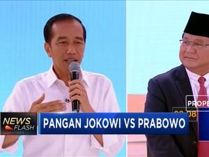 Konsep Pangan Jokowi vs Prabowo