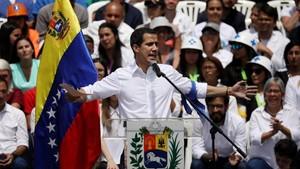 Pemimpin Oposisi Venezuela Hadiri Konser Kemanusiaan