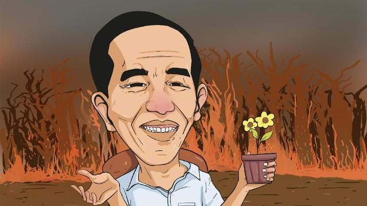 Maaf Pak Jokowi, Kebakaran Hutan & Lahan Masih Terus Terjadi