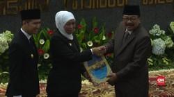 VIDEO: Sertijab Gubernur dan Wakil Gubernur Jawa Timur