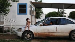 FOTO: Imigran Honduras Gapai Mimpi Dapat Suaka di AS